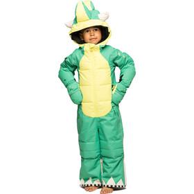 WeeDo Mondo Monster Snowsuit Kids, green